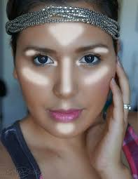 where to highlight where to put highlighter for a natural airbrushed glow using