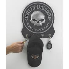 Harley Davidson Coat Rack HarleyDavidson Skull Key RackHolder 100 Hooks wwwkotulas 90