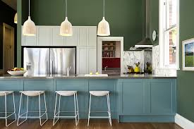 dark green painted kitchen cabinets. Magnificent Wooden Kitchen Playsets In Transitional With Two Different Wood Floor Next To Painted Cabinets Alongside Open Concept Dark Green