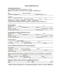 45 Sample Rental Application Form Perfect – Markposts.info