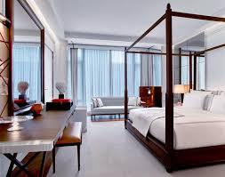 New York City Bedroom Baccarat Hotel New York City Hotel Andrew Harper Travel