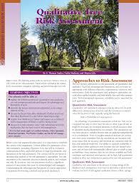 Pdf Qualitative Tree Risk Assessment