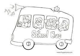 Small Picture School bus coloring pages to download and print for free