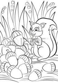 Little Nuts Vettoriali Illustrazioni E Clipart