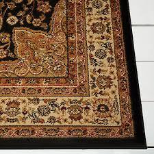 2 of 3 black oriental area rug 4x6 small persian carpet 83 actual 3 6 x