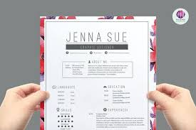Pretty Resume Templates Extraordinary Pretty Resume Templates Beautiful Elegant Job 28 Ifest