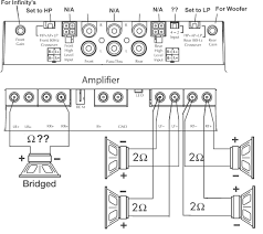 4 channel amp wiring diagram kwikpik me how to wire a 4 channel amp to 4 speakers and a sub at Wiring Diagram For Amp