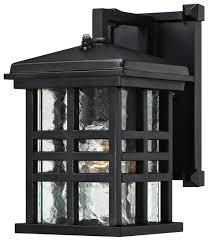 caliste one light outdoor wall lantern with dusk to dawn sensor