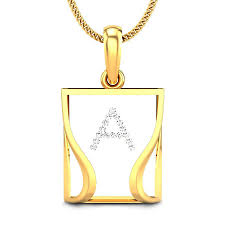 initial diamond pendants candere com a kalyan jewellers company most trusted jewellery brands