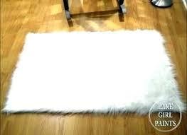 round sheepskin rug rugs charming fur furniture wonderful white small faux big w shee