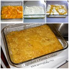 peach cobbler with cake mix