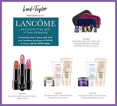 receive your choice of 10 pc gift with 75 lancôme purchase
