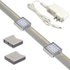 jesco lighting orionis  ft silver track lighting kit with