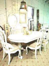 shabby chic dining chairs round shabby chic dining table and chairs cottage style room french with