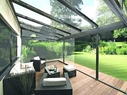 glass enclosed room seating area additions addit