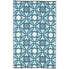recycled plastic rugs fab habitat indoor outdoor recycled plastic rug blue 5 x 8 multi