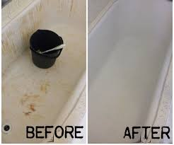 how to turn your bleach stained red bathtub white again 4 steps with pictures