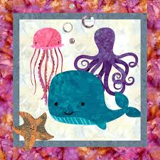 Sea Life! Downloadable Quilt Pattern & Sea Life! Adamdwight.com