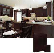 Espresso Shaker Cabinets Kitchen Shaker Style Kitchen Cabinets With Kitchen Shaker Style