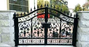 Decorative Metal Gates Design Delectable Gorgeous Iron Gates Design Metal Gate Designs Popular Factory