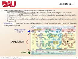 Jcids Process Flow Chart Requirements Executive Overview Workshop Joint Capabilities