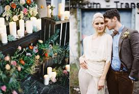 irish destination wedding inspiration · ruffled Wedding Inspiration Ireland botanical wedding inspiration photo by paula ohara s ruffledblog com Ireland Cliff Wedding