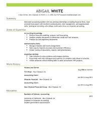 Best Ideas of Finance Internship Resume Sample For Template Sample