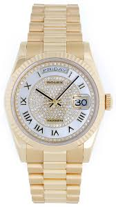 rolex president day date pave r mother of pearl men s watch rolex president day date pave r mother of pearl men s watch 118238