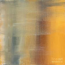 abstract painting abstract golden yellow gray contemporary trendy painting fluid gold abstract i by madart