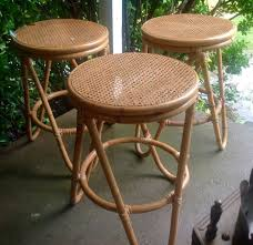 3 vintage thonet rattan bentwood bar counter cane seat bent wood stools chair thonetstyle