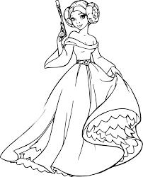 Coloriage Princesse Leilal