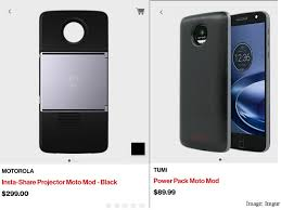 motorola projector. motorola moto mods price leaked on verizon app projector