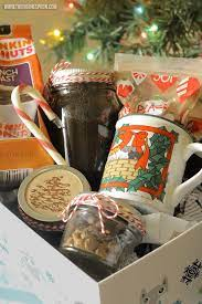 If you wish, shredded paper can be substituted). Diy Coffee Lover S Gift Basket The Rising Spoon