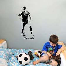 135x65 Cm Cr7 Cristiano Ronaldo Behang Voetballer Muursticker