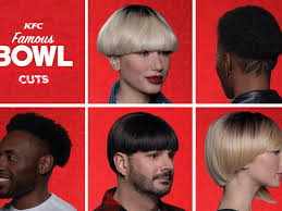 beauty brands at ces and kfc brings back the bowl haircut