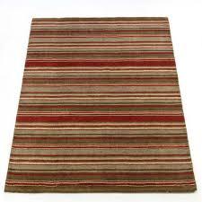 rustic corn brown red wool rugs by flair rugs 1