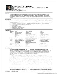 Microsoft Office Resume Samples Resume Template Directory