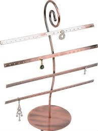 Earring Stands And Displays New Awesome Interior Jewelry Metal Display 32 Bar Earring Stand In