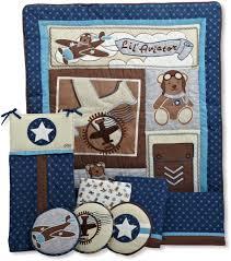 cocalo lil aviator crib bedding collection