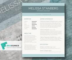 Stylish CV Template Freebie - The Modern-Day Candidate