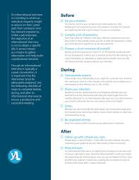 Yali Successful Interview Checklist By Tatenda Kangwende Issuu