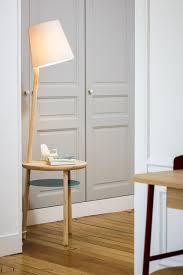 Hartô Lampentisch Josette Naturtischplatte Interiors Floor Lamp