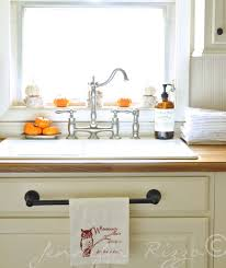 best 25 kitchen towel rack ideas