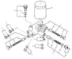 Oil filter base assembly
