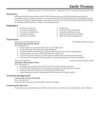 Sample Resume Objective For Accounting Position Example Resume