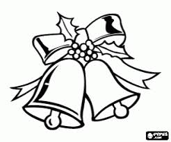 Small Picture Christmas Bells coloring pages printable games 2