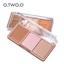 [Bayar Di Tempat]<b>O</b>.<b>TWO</b>.<b>O 4 Colors</b> Palette Bronze | Shopee ...