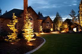 outdoor landscape lighting gallery
