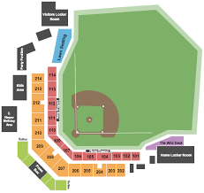 Wild Things Park Seating Charts For All 2019 Events