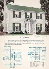 colonial house plans. Incredible 5 Antique Colonial House Plans 17 Best Images About Vintage Floorplans On Pinterest